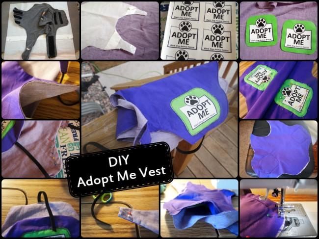 "DIY ""Adopt Me"" Vest"