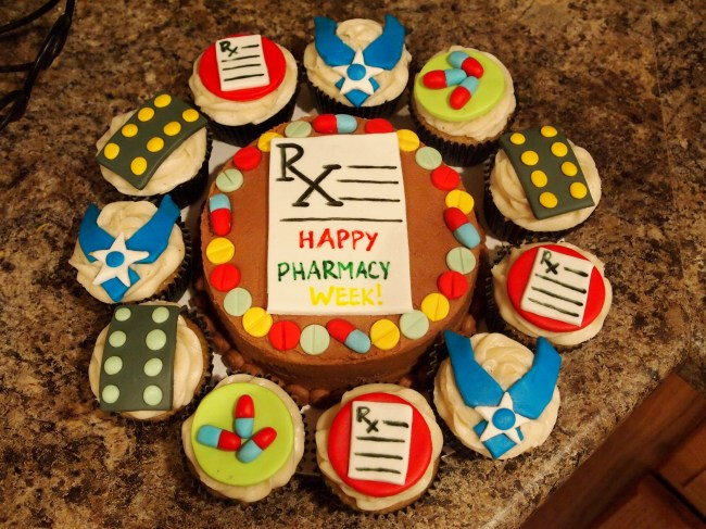 Pharmacy Week and Depakote Cupcakes