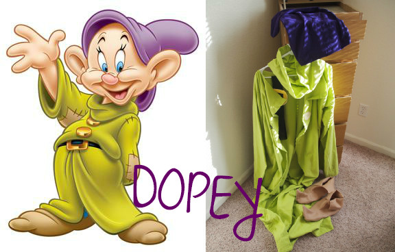 ... DOPEY Costume | Life by Ky Blog ... & Seven Dwarf Costumes | Life by Ky