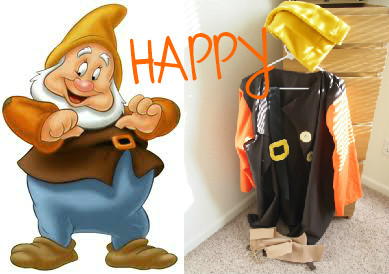 HAPPY Costume | Life by Ky Blog