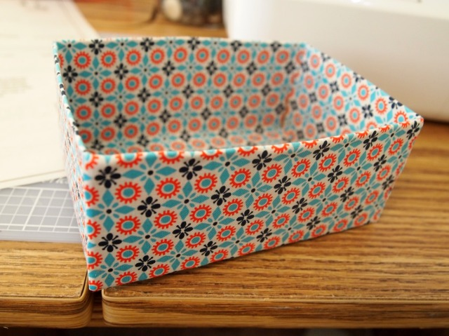 No-Sew Fabric Box