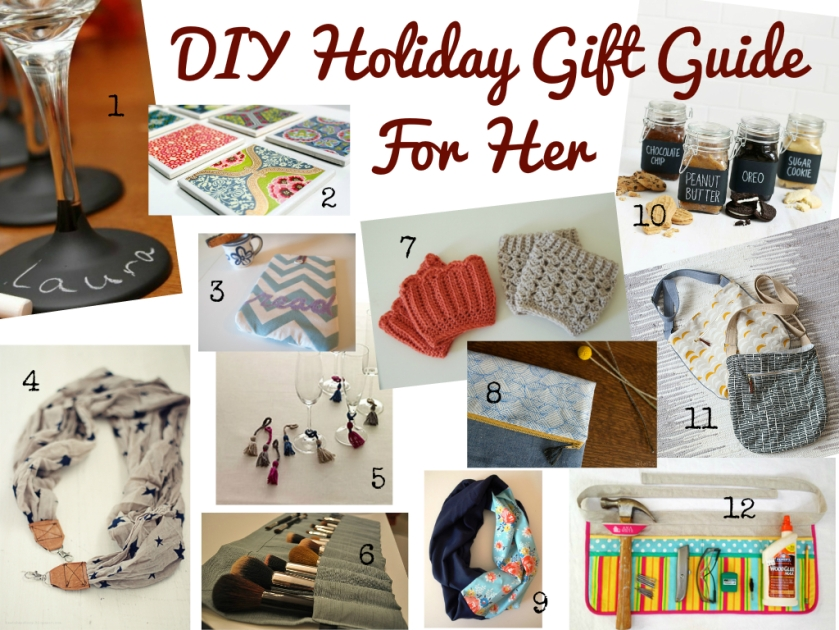 DIY Holiday Gift Guide For Her