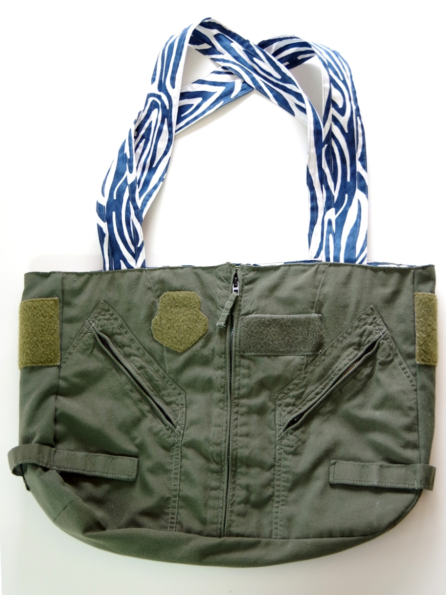 Flight Suit Purse A Go-Go