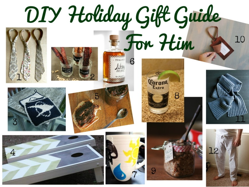 DIY Gift Guide For Him