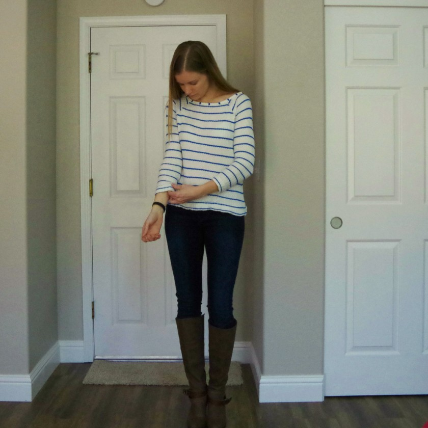 Stitch Fix Tart Leighton Boat Neck Knit Shirt | Life by Ky Blog