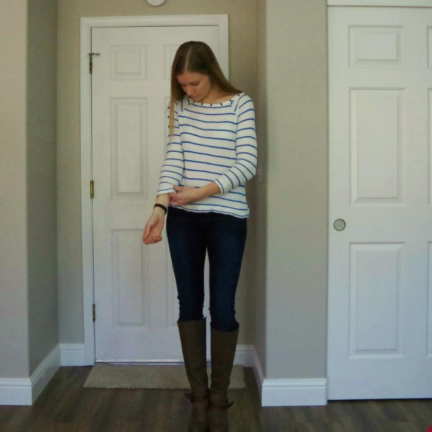 Stitch Fix Tart Leighton Boat Neck Knit Shirt | Life by Ky Blog