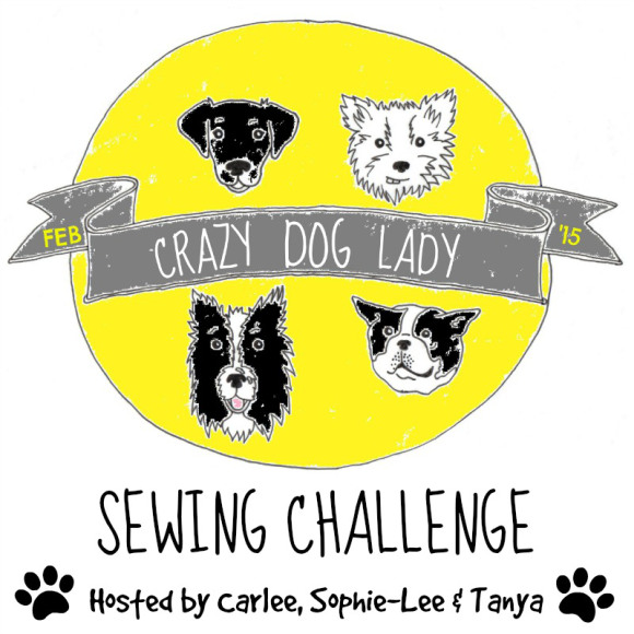 Crazy Dog Lady Sewing Challenge 2015