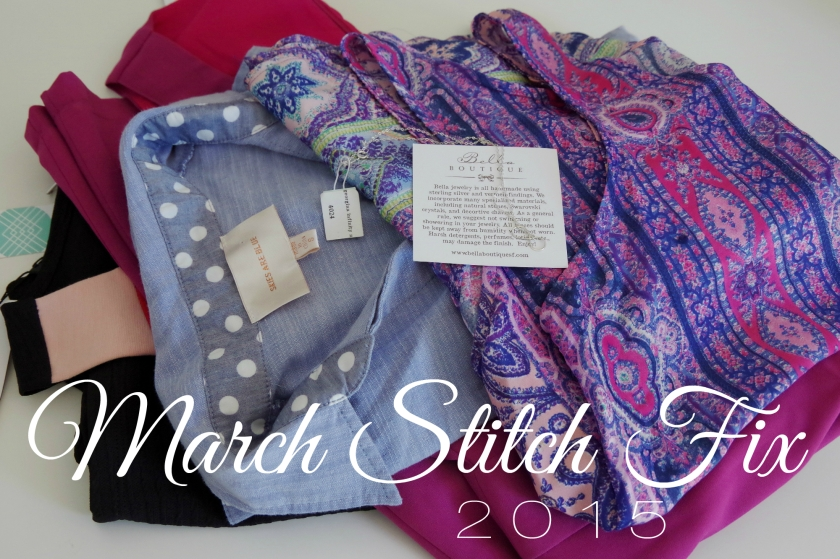March 2015 Stitch Fix | Life by Ky Blog