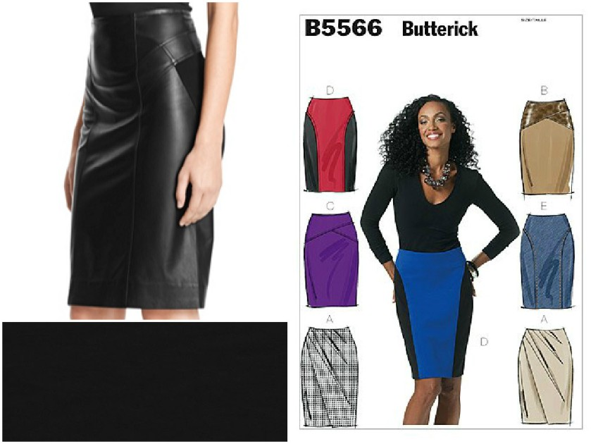Sewing Plans | Black Skirt | Life by Ky Blog