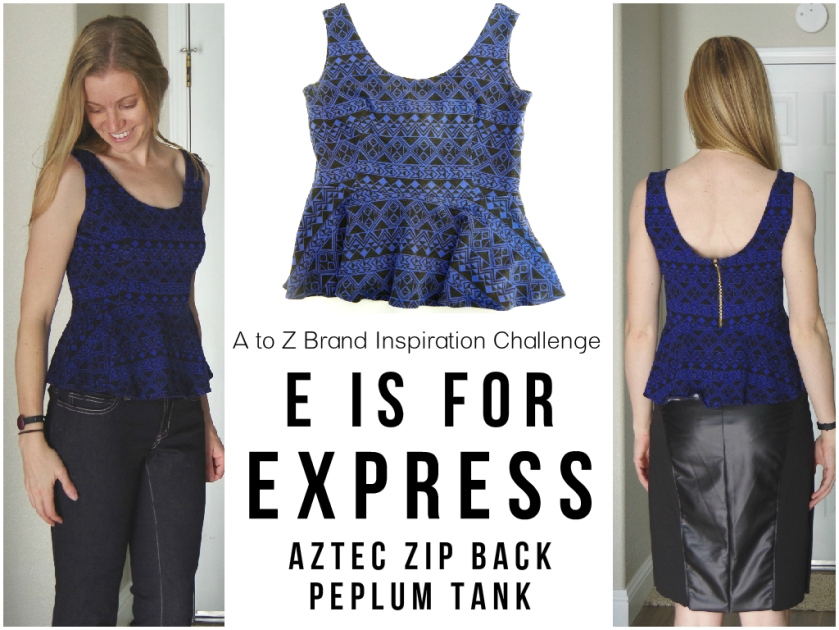 E is for Express | Life by Ky Blog
