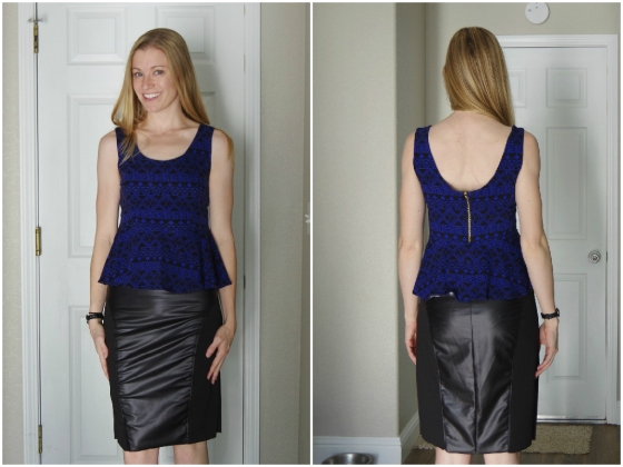 Modified McCall's M6754 and Butterick B566 | Life by Ky Blog