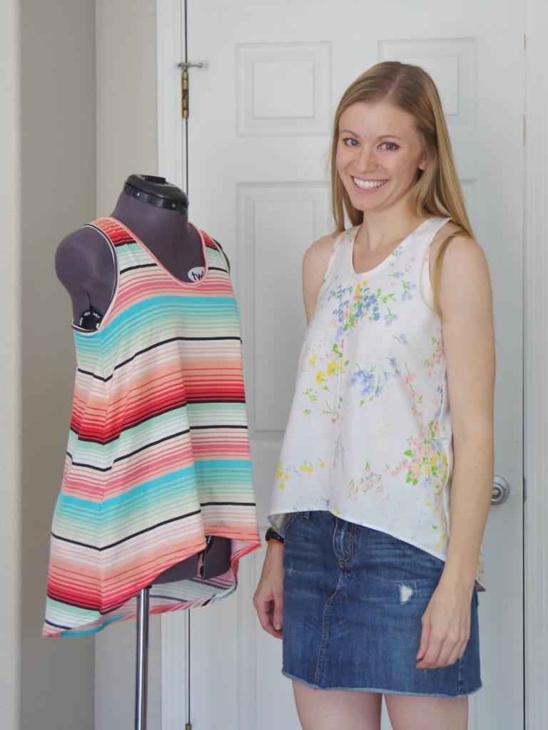 Selvage Designs Foxglove Tank | Life by Ky Blog