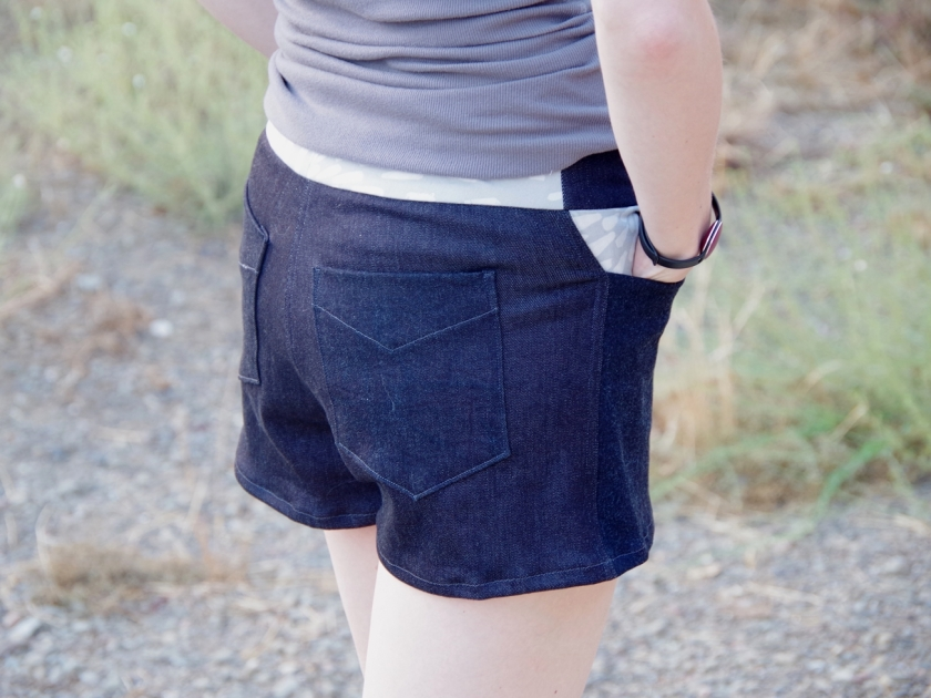 Grainline Maritime Shorts | Life by Ky Blog