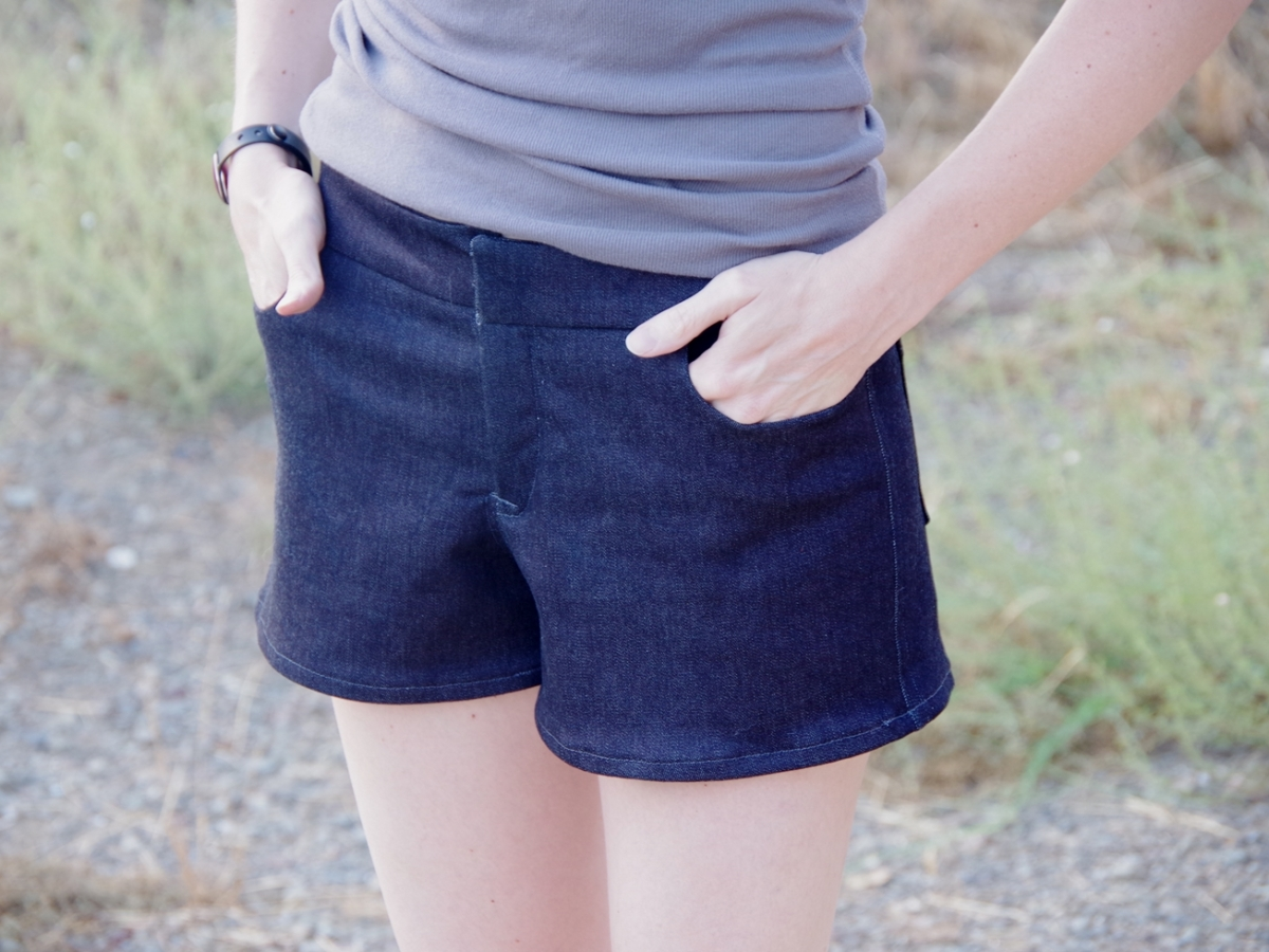 Shorts Weekend! | Grainline Maritime Shorts & Jalie Board Shorts