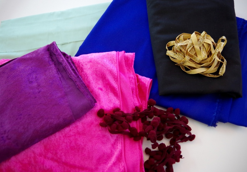 Fabric for Frozen Anna Costume | Life by Ky Blog