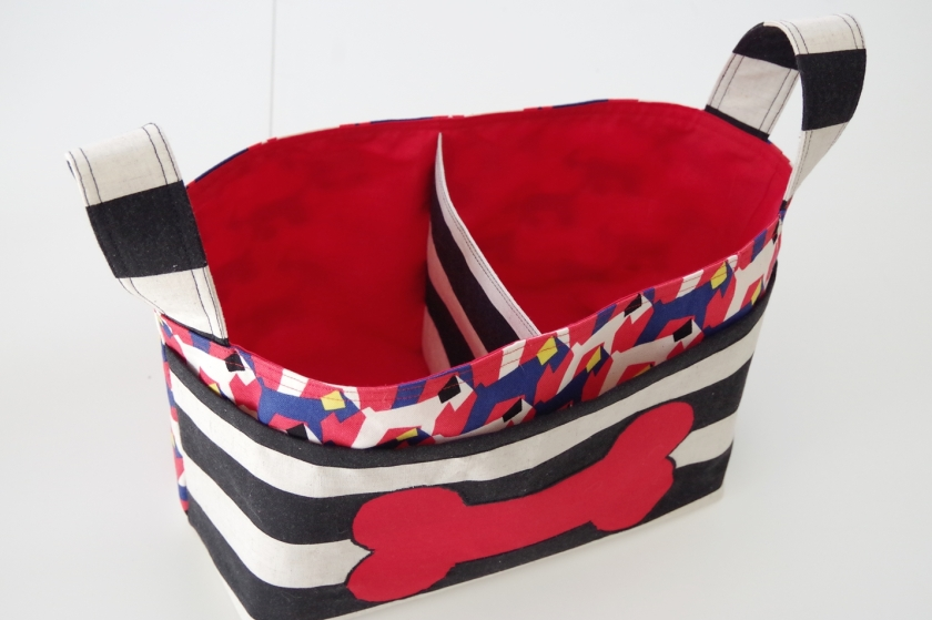 Noodlehead Divided Basket for the Dogs | Life by Ky Blog