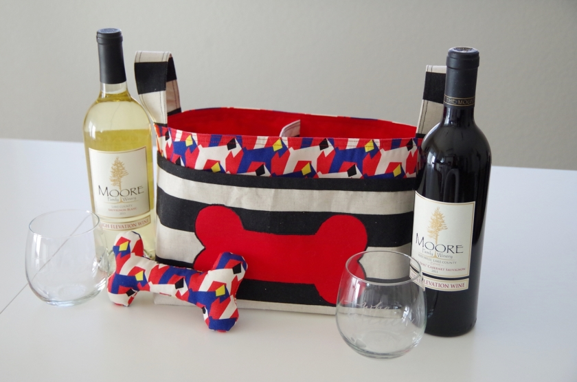Bark & Wine Silent Auction Basket | Life by Ky Blog
