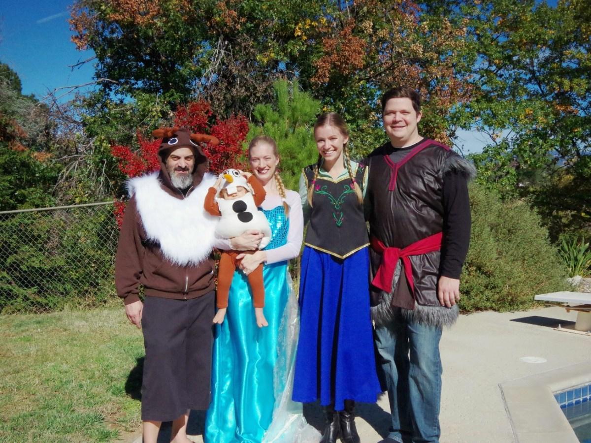 A Frozen Halloween!