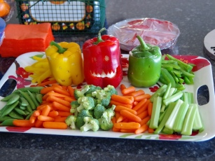 Halloween Veggies! | Life by Ky Blog