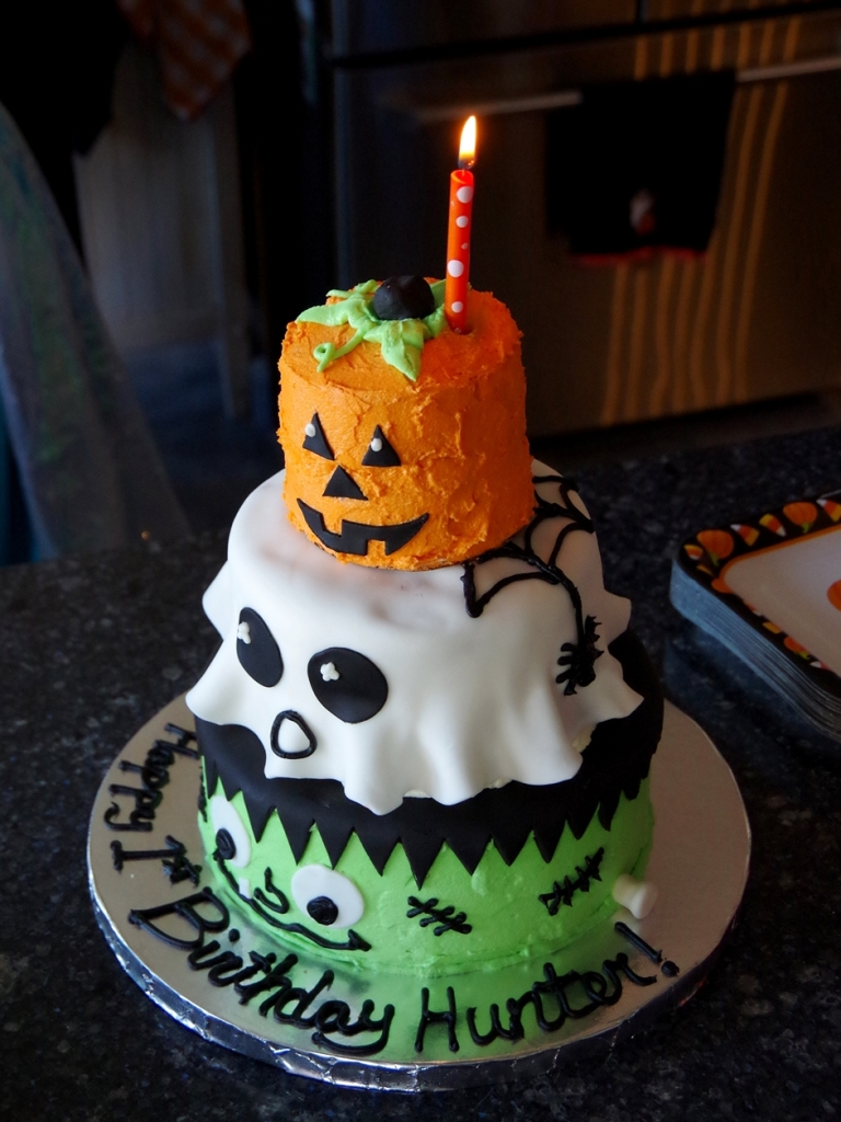 Halloween Birthday Cake! | Life by Ky Blog