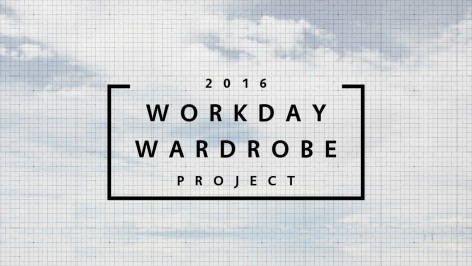 Workday Wardrobe Project