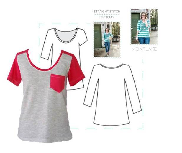 Color Blocked Montlake Tee | Life by Ky Blog