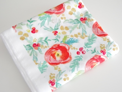 Sarah Schaitkin Winter Floral Spoonflower Fabric | Life by Ky Blog