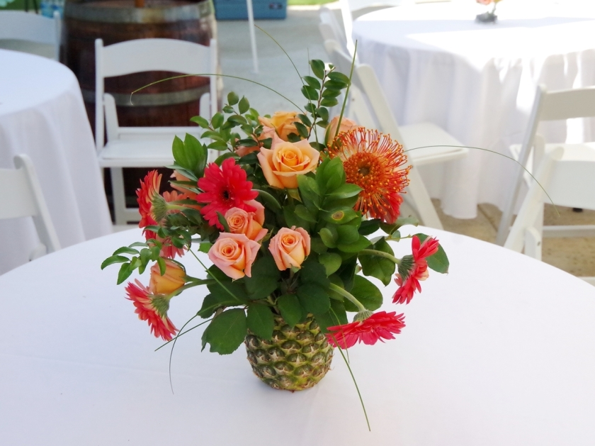 Pineapple Flower Arrangement | Life by Ky Blog