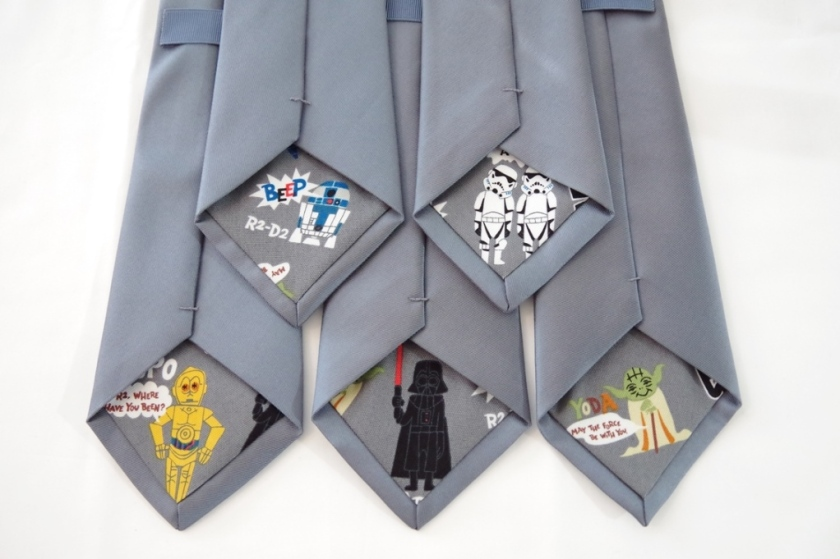 DIY Star Wars Wedding Ties | Life by Ky Blog