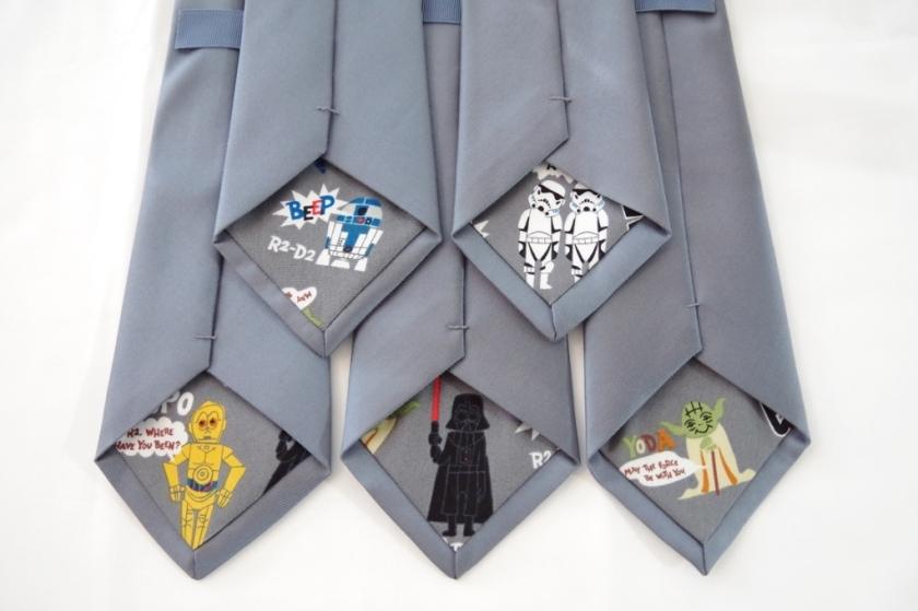 DIY Star Wars Wedding Ties   Life by Ky Blog