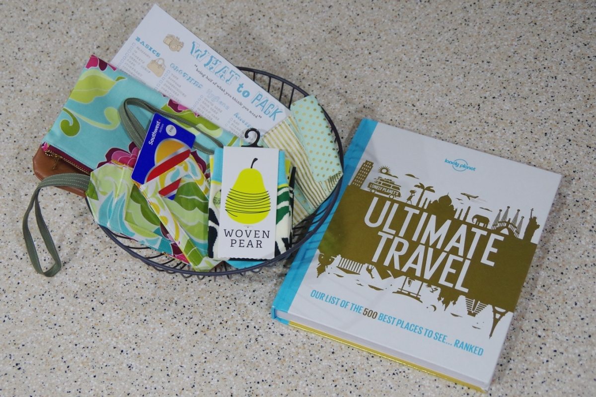 A Travel-Inspired Gift Basket