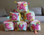 Fabric Baby Blocks | Life by Ky Blog
