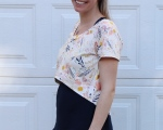 Megan Nielsen Briar Tee | Life by Ky Blog