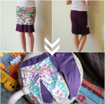 Skirt to P4P Petite Pegs Refashion | Life by Ky Blog