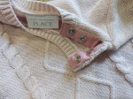 Adding Snaps to a Baby Sweater | Life by Ky Blog